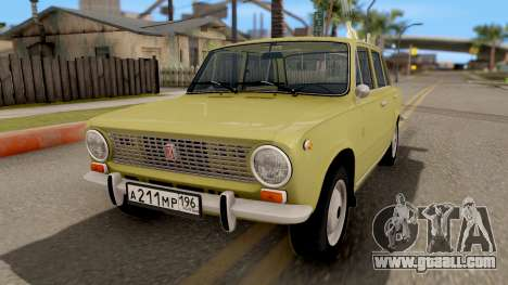 VAZ 2101 Kopeyka Stoke for GTA San Andreas