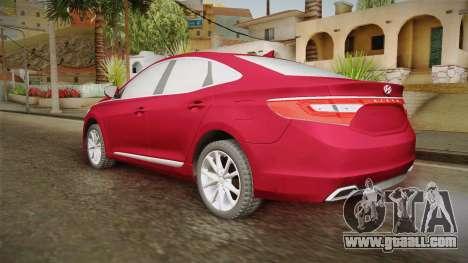 Hyundai Azera 2016 for GTA San Andreas left view