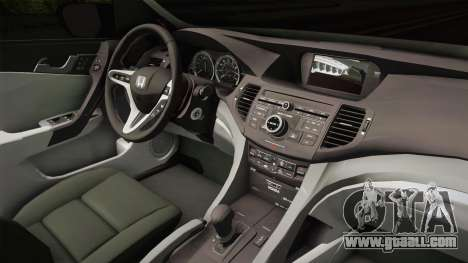 Honda Civic 2017 FC5 for GTA San Andreas inner view