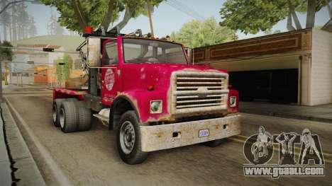 GTA 5 Vapid Towtruck Large Worn for GTA San Andreas