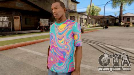T-Shirt Psychedelic for GTA San Andreas