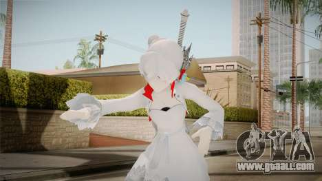 RWBY - Weiss Schnee Remade for GTA San Andreas
