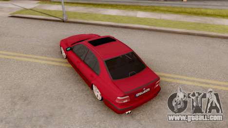 BMW M5 E39 MPOWER for GTA San Andreas back view