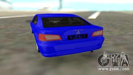 Mitsubishi Galant for GTA San Andreas back view