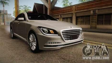 Hyundai Genesis 2016 for GTA San Andreas right view