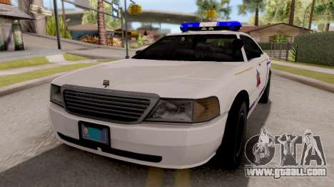 Dundreary Admiral Hometown PD 2009 for GTA San Andreas