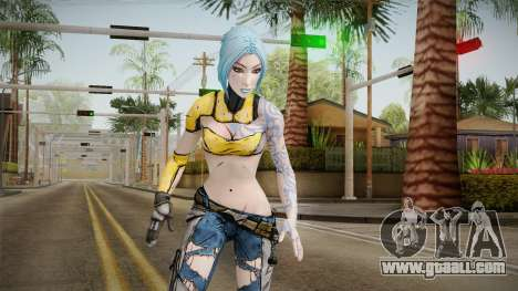 Borderlands 2 - Skimpier Maya The Siren for GTA San Andreas