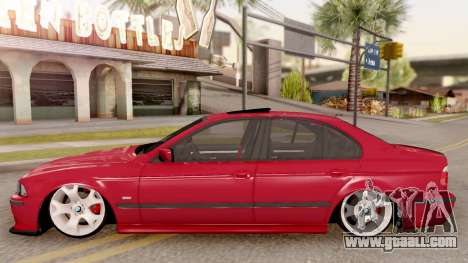 BMW M5 E39 MPOWER for GTA San Andreas left view