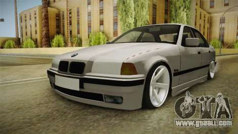 BMW 3 Series E36 1992 Sedan for GTA San Andreas right view