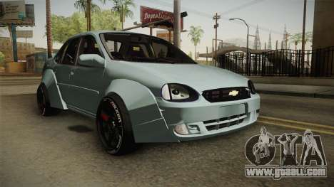 Chevrolet Corsa 2009 RocketBunny for GTA San Andreas right view