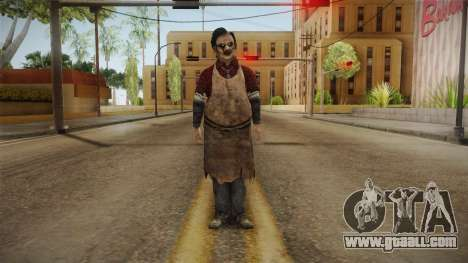 Leatherface Butcher for GTA San Andreas second screenshot