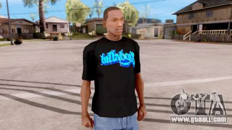 Billabong T-shirt v2 for GTA San Andreas second screenshot