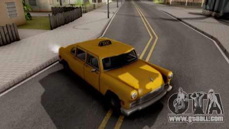 Cabbie New Texture for GTA San Andreas right view