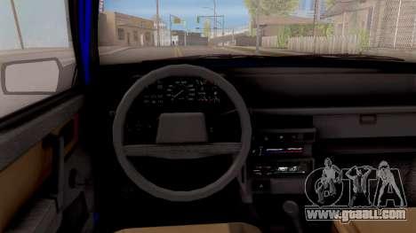 VAZ 21093 for GTA San Andreas inner view