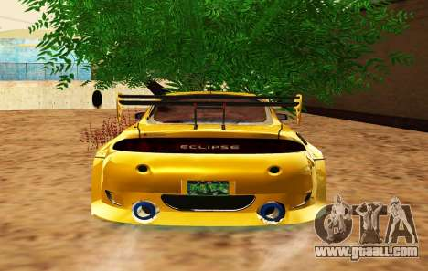 Mitsubishi Eclipse GST 1999 for GTA San Andreas upper view