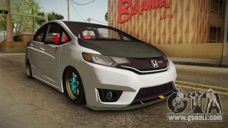 Honda Jazz GK FIT RS v2 for GTA San Andreas right view