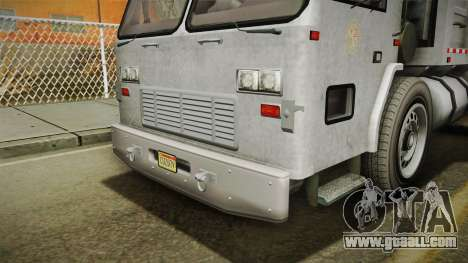 GTA 5 Jobuilt Trashmaster 2 IVF for GTA San Andreas side view
