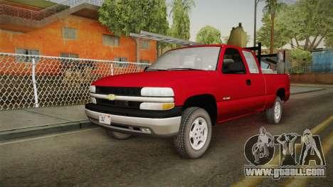 Chevrolet Silverado Work Truck 2001 for GTA San Andreas