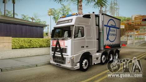 Volvo FH16 660 8x4 Convoy Heavy Weight for GTA San Andreas right view