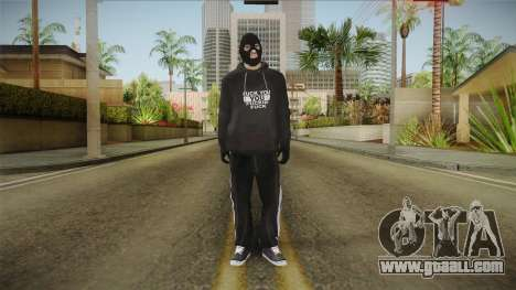 Whetstone Forasteros Skin 8 for GTA San Andreas second screenshot