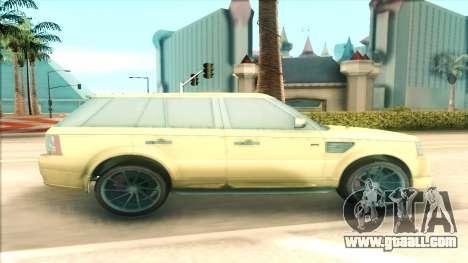 Range Rover Arden Design for GTA San Andreas left view