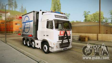 Volvo FH16 660 8x4 Convoy Heavy Weight for GTA San Andreas