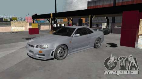 Nissan Skyline R34 Z-tune for GTA San Andreas