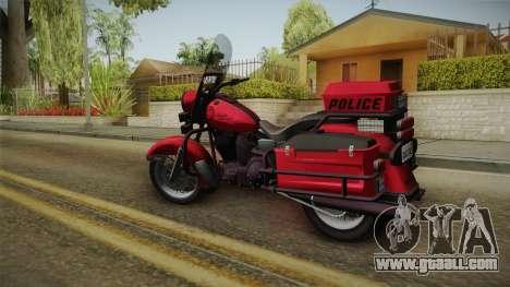 GTA 5 Police Bike for GTA San Andreas right view