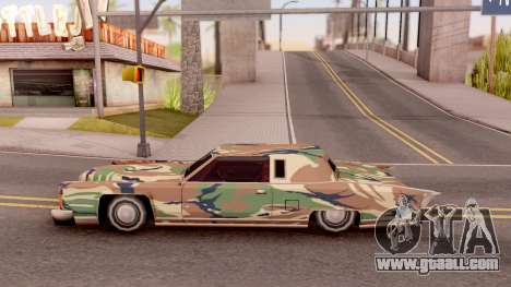 New Paintjob for Remington v3 for GTA San Andreas left view