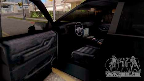 Ford Explorer FBI for GTA San Andreas inner view