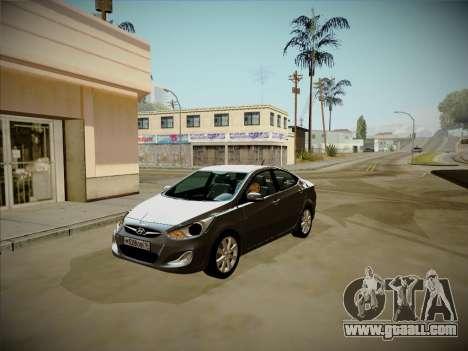 Hyundai Solaris Karelian Edition for GTA San Andreas