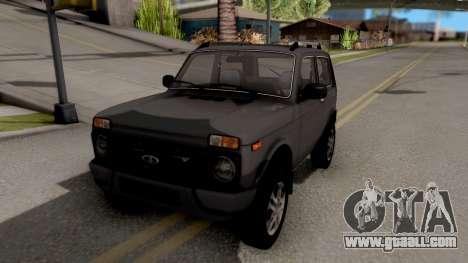 Lada Niva Urban V2 Stock for GTA San Andreas