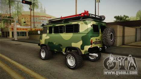 UAZ-452 Loaf Off Road for GTA San Andreas left view
