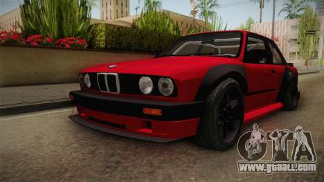 BMW M3 E30 Rocket Bunny for GTA San Andreas right view