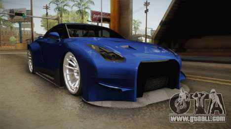 Nissan GT-R R35 NFSUC Tuning for GTA San Andreas