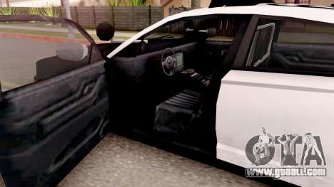Dodge Charger Police Interceptor for GTA San Andreas inner view