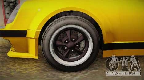 GTA 5 Pfister Comet Retro Cabrio for GTA San Andreas back view