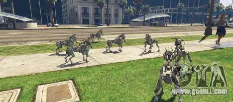 GTA 5 DOG Military Robot 1.0 third screenshot