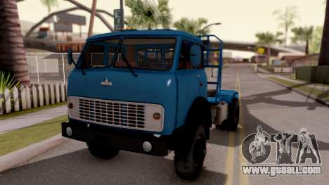 MAZ 509А Timber for GTA San Andreas