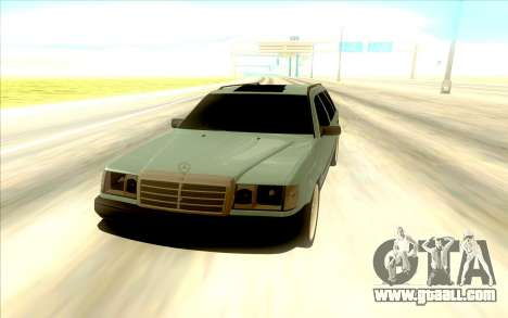 Mercedes-Benz W124 Wago for GTA San Andreas right view