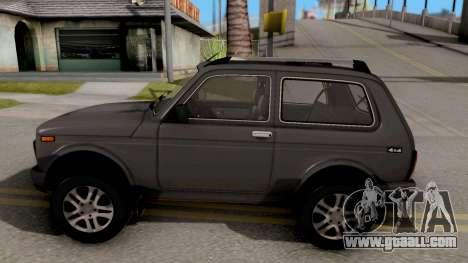 Lada Niva Urban V2 Stock for GTA San Andreas left view