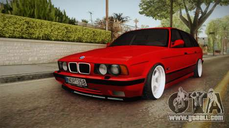 BMW 5 Series E34 Touring Stance for GTA San Andreas back left view