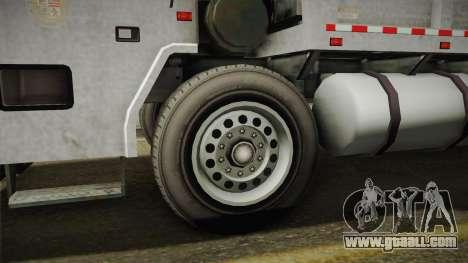 GTA 5 Jobuilt Trashmaster 2 IVF for GTA San Andreas back view
