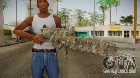 M40A3 Ghillie for GTA San Andreas third screenshot