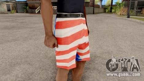 USA Shorts for GTA San Andreas second screenshot