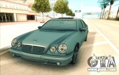 Mercedes-Benz W210 E55 for GTA San Andreas right view