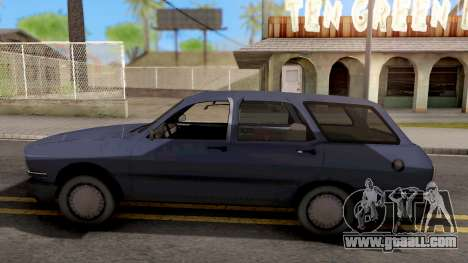 Renault 12 for GTA San Andreas left view