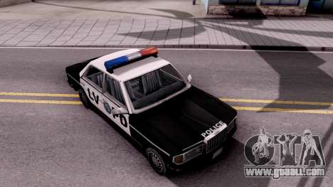 Admiral LVPD for GTA San Andreas right view