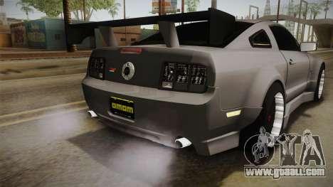 Ford Mustang Rocket JDM for GTA San Andreas interior