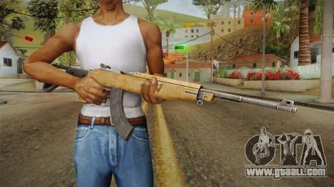 M2A1 New Stock and Magazine for GTA San Andreas third screenshot